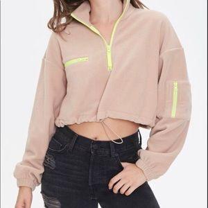 Active Fleece Half Zip Pullover